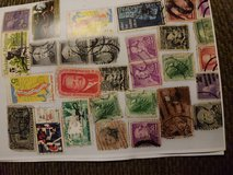 Antique Postage Stamps in Beaufort, South Carolina