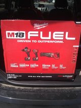 Milwaukee M18 Fuel Brushless 3 Tool Combo Kit in Conroe, Texas