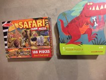 Floor puzzles with animals in Naperville, Illinois