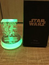 Star Wars  Laser etched crystal in Okinawa, Japan