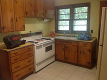 Knotty Pine Cabinets in Beaufort, South Carolina