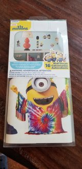 DESPICABLE ME Peel and Stick wall decals - BRAND NEW in Box (16 decals) in Quantico, Virginia