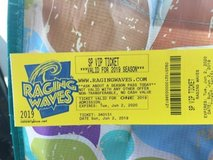 Raging waves 14 tickets in Shorewood, Illinois