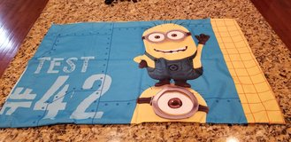 Two DESPICABLE ME Standard size pillow cases - BRAND NEW - Washed once, but never used in Quantico, Virginia