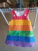 Paneled Rainbow A-line Dress in Columbus, Georgia