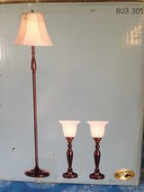 New set of 3 lamps in Tinley Park, Illinois