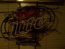 MILLER LITE NEON SIGN in DeRidder, Louisiana