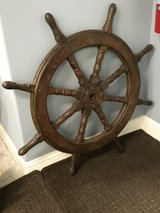 Ships wheel 41 inches-reduced in Conroe, Texas
