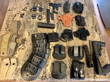 Holsters and shooting equipment in Camp Pendleton, California