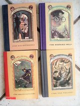 Lemony Snicket A Series of Unfortunate Events #1, #4, #6 and #7 in Stuttgart, GE