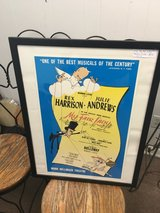 """Vintage """"My Fair Lady"""" Theatre Poster in Beaufort, South Carolina"""
