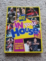 WWE Best of in Your House DVDs in Camp Lejeune, North Carolina