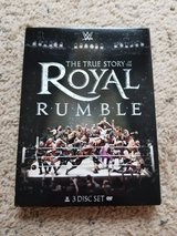 WWE Royal Rumble Histoey DVDs in Camp Lejeune, North Carolina