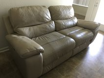 Leather Couch in 29 Palms, California