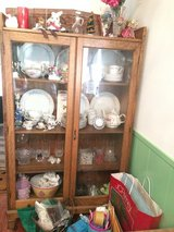 Pie safe or Curio or Display cabinet ~ Historical Humble in Kingwood, Texas