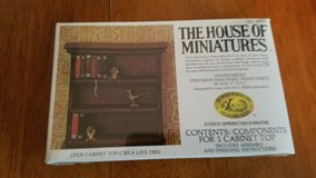 House of Miniatures #40002 Open Cabinet Top Kit  NEW in Yorkville, Illinois