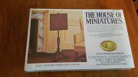 House of Miniatures #40021 Queen Anne Fire Place Screen Kit  NEW in Yorkville, Illinois