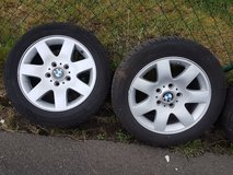 Bmw Rims with summer tyres in Ramstein, Germany
