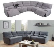 United Furniture - Havana Sectional in Light and Dark Gray including delivery in Grafenwoehr, GE