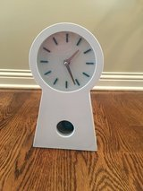 Sterling & Noble Exposed Pendulum Wall Clock in Chicago, Illinois