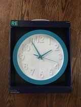 New- WALL CLOCK by. Room Essential in Chicago, Illinois