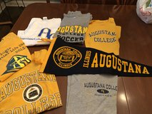 AUGUSTANA COLLEGE shirts and pennant in Naperville, Illinois