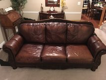 Sofa, Ashley leather in Fort Belvoir, Virginia