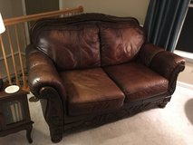 Love seat, Leather Ashley in Fort Belvoir, Virginia