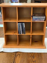 Pottery Barn -- Wooden Cubby Display Shelf/holder - sit on desk or hang on wall in Shorewood, Illinois