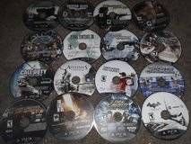 16 playstation 3 games in Cherry Point, North Carolina
