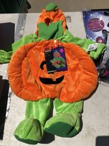 Pumpkin costume in Fort Hood, Texas