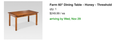 Nearly new Farmhouse dining room table with 4 chairs and bench! in Tinley Park, Illinois