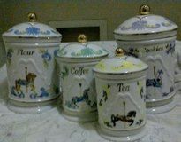Vintage Kitchen Canister Set in Yucca Valley, California