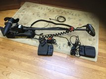 Minn Kota trolling motor 2 foot pads and transducer 55 pound thrust in Westmont, Illinois