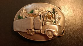 1988 Siskiyou  truckers belt buckle in Warner Robins, Georgia