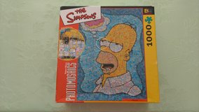 Homer Simpson puzzle in Warner Robins, Georgia