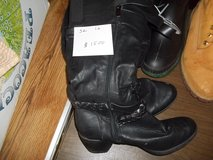 TALL BLACK BOOTS   SIZE 10 in Warner Robins, Georgia