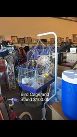 Bird Cage and Stand in Fort Leonard Wood, Missouri