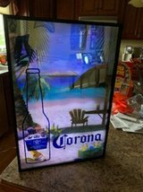 Corona beer sign in Shorewood, Illinois
