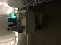 White nightstand in Denton, Texas