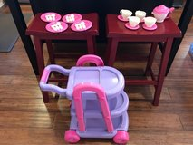 My Very Own 26pc Tea Cart Set by American Plastic Toy in Bartlett, Illinois