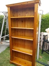 REDUCED Large Solid Pine Bookcase in Lakenheath, UK