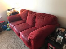 red sofa and loveseat combo in Beaufort, South Carolina