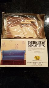 House of Miniatures #40015 Chippendale Sofa Kit in Yorkville, Illinois
