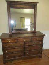 Vintage Hitchcock Dresser/Mirror in Bartlett, Illinois