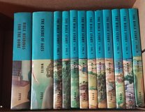 vintage Bible story encyclopedia set in Fort Leonard Wood, Missouri