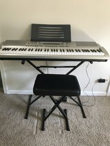Casio Keyboard 76 Key piano style in Glendale Heights, Illinois