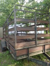 Heavy duty cattle trailer rack in Fort Leonard Wood, Missouri