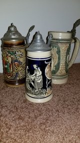 3 BEER STEINS in Elgin, Illinois