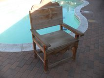 $$  Cool Chair / Throne  $$ in 29 Palms, California